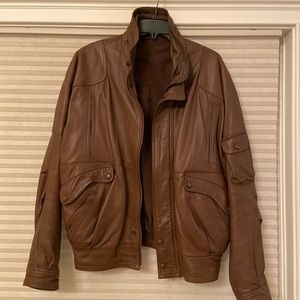 Men's size 48 real lamb skin jacket